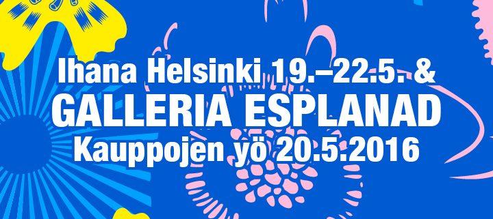 Ihana Helsinki Galleria Esplanad